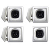 Acoustic Audio - Acoustic Audio AS6S In Wall 7 Speaker Set 2 Way Home Theater 1400 Watt AS6S-7S - White