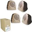 Acoustic Audio - Acoustic Audio RS6SB Brown 1000 Watt Rock Speaker 2 Pair Pack w/ Wire RS6SB-2PRW - Brown
