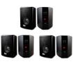 Acoustic Audio - Acoustic Audio 151B Indoor Outdoor 2 Way Speakers 1800W 3 Pair Pack 151B-3Pr - Black