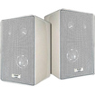 Acoustic Audio - 100 W RMS - 200 W PMPO Indoor/Outdoor Speaker - 3-way - 10 Pack - White