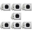 Acoustic Audio - Acoustic Audio AS6S In Wall Speaker 7 Pair Pack 2Way Home 2800 Watt New AS6S-7Pr - White