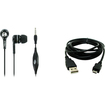 Accessory Export - Samsung Intensity III U485 3.5mm Headset + 8 USB Data Cable