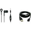 Accessory Export - Samsung Intensity III U485 3.5mm Headset + 8 USB Data Cable