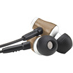 GOgroove - In-Ear Wood Stereo Earbuds w/ Microphone for LG G Flex , Optimus G , G2 , Nexus 5 & More Phones