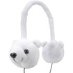 GOgroove - Over-Ear Volume Limiting Polar Bear Headphones for Vtech InnoTab 3S Learning App Tablet & More