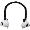 GOgroove - KDZ Volume Limiting Panda Headphones for Laptops , Netbooks , Portable DVD Players & More