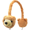 GOgroove - Kids Volume Limiting On-Ear Brown Bear Headphones for Samsung Galaxy Tab 3 7.0 Kids Tablet - Brown
