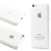 DrHotDeal - New Matte Ultra Thin Snap-on PC Back Case Cover for iPhone 5C - Matte Clear