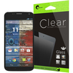 i-Blason - Ultra Thin Tempered Glass Premium Screen Protector for Moto X Smart Phone by Google - Clear