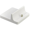 4XEM - Lightning Charge and Sync Docking Station Dock For iPhone5/iPod Touch - White