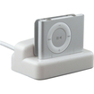 eForCity - Multi Function Cradle Compatible with Apple iPod shuffle 2nd Gen, - White