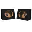 Sycho Sound - New Pair 6X9 Truck SUV Car Speaker Black Boxes TR69 - Black