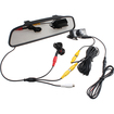 "AGPtek - 4.3"" TFT Car LCD Rear View DVD Mirror Monitor with Backup Camera"