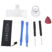 AGPtek - Battery Replacement Parts Repair Fix Kits Free w/ Flex Cable and Tools f/ iPhone 5 5th Gen