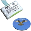HQRP - Battery Replacement for AT&T / Lucent Battery 2419 / 80-5543-00-00 Cordless Phone + Coaster