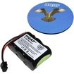 HQRP - Phone Battery for Sony SPP-AQ25 SPP-AQ500 SPP-AQ600 + Coaster