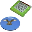 HQRP - Battery Replacement for AT&T / Lucent sku 90817 sku 91076 Cordless Phone + Coaster