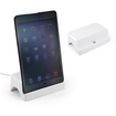DrHotDeal - 8 pin Data Sync Charger Dock Base for iPad Mini iPod Touch 5 5th Gen - White