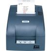 Epson - Dot Matrix Printer - Monochrome - Desktop, Wall Mount - Receipt Print - Gray