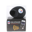 iHip - NFLEGG-PS NFL Officially Licensed Silicone Egg Sound Amplifier for iPhone 5 (Pittsburgh Steelers) - Black - Black