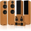 Fluance - SX Series 7.0 Cinema Surround Sound Home Theater Speaker System