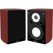 Fluance - XL7S High Performance Two-way Bookshelf Surround Sound Speakers for Home Theater and Music Systems - Mahogany