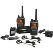 Midland - H2O Waterproof 50-Channel Two-way Radio with 284 Privacy Codes and Headset
