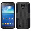 Insten - Astronoot Case For Samsung Galaxy S4 Active i537 - Gray/Black Astronoot