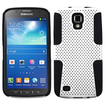 Insten - Astronoot Case For Samsung Galaxy S4 Active i537 - White/Black Astronoot