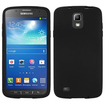 Insten - Solid Skin Case For Samsung Galaxy S4 Active i537 - Black