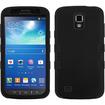 Insten - TUFF Case For Samsung Galaxy S4 Active i537 - Black