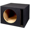 "Sycho Sound - New 10"" Ported Black Car Truck Bass Box Subwoofer 10SP - Black"