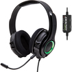 GamesterGear - Cruiser XB200 Over Ear Stereo Headset for Microsoft Xbox 360/ Xbox 360 Slim Retail Pack - Black, Green - Black, Green