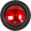 Audiopipe - 800 W Automobile Woofer - Black, Red