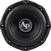Audiopipe - Woofer - 1200 W PMPO - Black