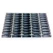 Chrome Battery - Chrome Pro Series 1.5V AA Alkaline Batteries 50 Pack - Silver - Silver