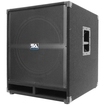 Seismic Audio - 500 W Home Audio Subwoofer System - Pack of 1 - Black