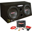 "XXX - Xbx1200B 12"" 1200W Car Subwoofers Subs/Amplifier/Amp Kit/Sub Box Package"