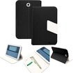 GreatShield - VANTAGE POP Series Leather Stand Case with Auto Sleep/Wake function for Samsung Galaxy Note 8.0 - Black, White