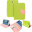 GreatShield - VANTAGE POP Series Leather Stand Case with Auto Sleep/Wake function for Samsung Galaxy Note 8.0 - Green, Pink