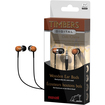 Maxell - Timbers Wood Stereo Earbuds 3.5mm - Universal - Oak (Brown) - Oak