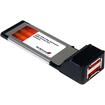 Startech - 2 Port ExpressCard eSATA 6 Gbps Controller Card