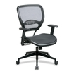 Office Star - SPACE Mid-Back Task Chair with Adjustable Arms - Multi