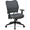 Office Star - 13-V44N1WA Deluxe Chair with VeraFlex Back - Charcoal Gray