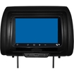 """Concept Housewares - Cls-703 7"""" Chameleon Headrest Monitor With Hd Input, Touch Buttons - Black"""