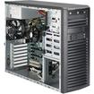 Super Micro - SuperWorkstation Barebone System - 3U Mid-tower - Intel C226 Express Chipset - Socket H3 LGA-1150 - Black