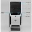 Dell - Refurbished - OptiPlex Desktop Computer - 4 GB Memory - 320 GB Hard Drive - Silver