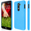 Empire - KLIX Slim-Fit Hard Case for LG G2 - (NOT Compatible with Verizon / International Model) - Light Blue Quicksand - Light Blue Quicksand