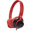 Creative Labs - Premium Over Ear Headset for Music and Calls - Red - Red