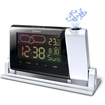 Oregon Scientific - TimeLight Projection Atomic Alarm Clock with Color LCD